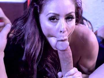 Stripper Monique Alexander is exploring her dark side