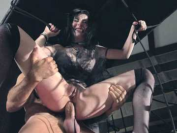 Young Charlotte Sartre and Linda Leclair turn party into a fantastic orgy