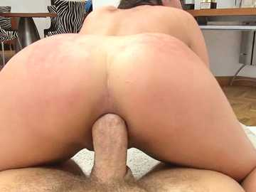 Hardcore anal with a young amateur Francesca Dicaprio