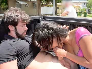 Maya Bijou Gets Fucked in Public