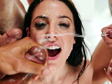Angela White  Blowbang