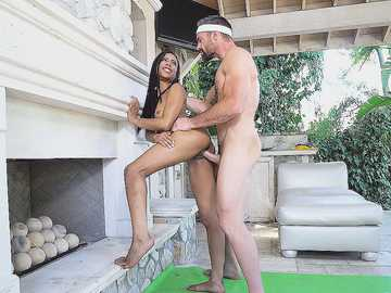 Kira Noir: The Yoga Newbie Gets Fucked Well