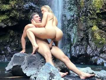 Bright model Anikka Albrite take s part in filming exotic scene with her hard-on husband Mick Blue
