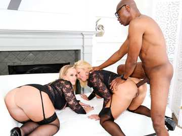 Dee Siren and Naughty Alysha in Anal Buffet #11, Scene #04