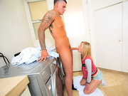 Chloe Brooke had a crush on her older brothers friend, Clover. He was at her house, doing some ...