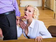 Jenna Ivory and her co-worker have been seeing each other. They usually use their lunch for a ...
