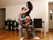 Rachel is the type of girl who is willing to fuck anywhere her lust drives her, let it be a ...